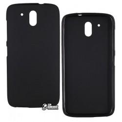 Чехол силиконовый для HTC Desire 326G, черный
