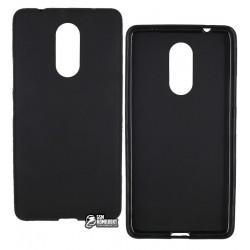 Чехол силиконовый для Lenovo K6 Note Black