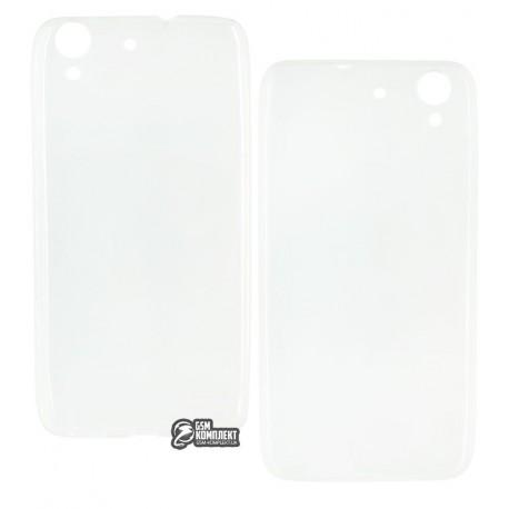 Чехол защитный для Huawei Y6 ||, силиконовый, прозрачный