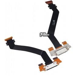 Шлейф для планшета Samsung P7300 Galaxy Tab , P7310 Galaxy Tab , коннектора зарядки, с компонентами