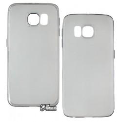 Чехол ультратонкий Hoco Light для Samsung G920F Galaxy S6, силиконовый, серый