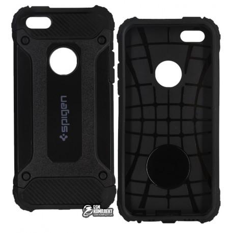 Чехол SGP Slim iron для Apple Iphone 5/5s черный