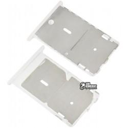 Держатель SIM-карты для Xiaomi Mi4c, белый