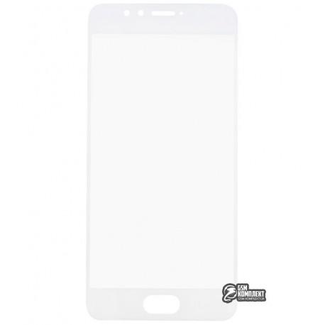 Загартоване захисне скло для Meizu M5s 0,26 мм 9H, біле