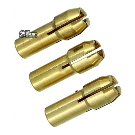 Набор цанговых патронов FIT, 1.4-1.6мм, 2.2-2.4мм, 3-3.1мм