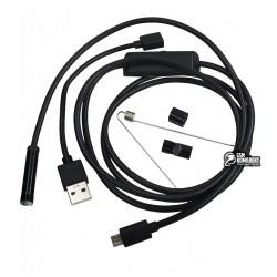 USB-эндоскоп 1.5 м 7 мм, micro USB с OTG переходником