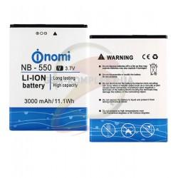 Аккумулятор NB-550 для Nomi i550 Space, Li-ion, 3,7 В, 3000 мАч, original