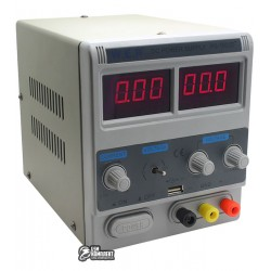 ЛабораторныйблокпитанияWEPPS-1502D+USB,15V2A,цифроваяиндикация