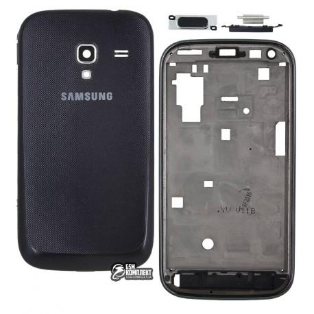 Корпус для Samsung I8160 Galaxy Ace II, черный