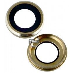 Стекло камеры для Apple iPhone 6S, золотистое