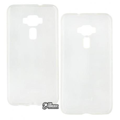 ЧехолзащитныйiPakyдляAsusZenFone3,силиконовый,прозрачный