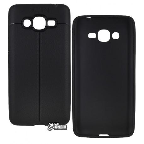 Чохол захисний Auto Focus для Samsung G530 Galaxy J2 Prime, силіконовий, чорний