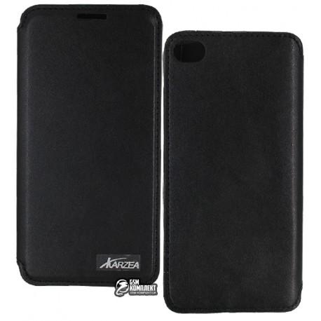 Чехол книжка для Lenovo S90, черная
