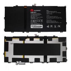 АккумуляторHB3S1дляHuaweiMediaPad10FHD(3.7V,6600mAh)