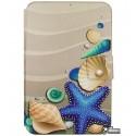 Чехол книжка универсальная для планшетов 7 дюймов, с рисунком Подводный мир
