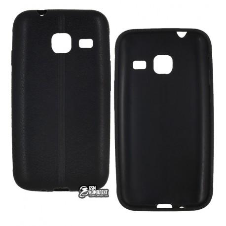 Чехол накладка для Samsung J105 Galaxy J1, кожзам