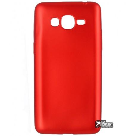 Чехол защитный для Samsung J2 Prime Galaxy G532F, силиконовый, красный
