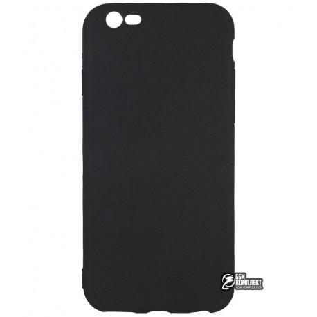Чехол защитный для iPhone 6, pvc, черный