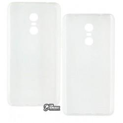 Чехол защитный для Xiaomi Redmi Note 4x, силиконовый, прозрачный