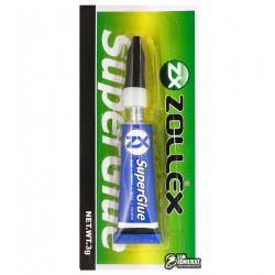 Супер клей Zollex 3г