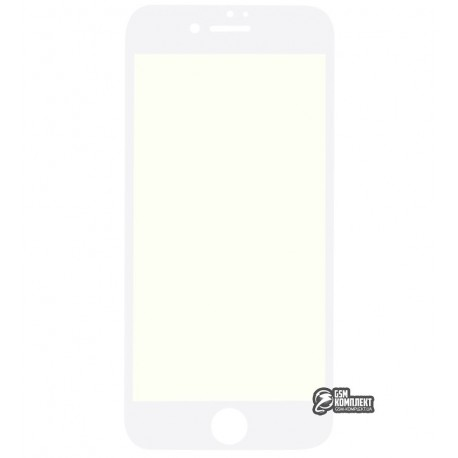 Защитное стекло HOCO Flexible PET 3D Anti-Blue IPhone 7/8 0.25мм (Белый)