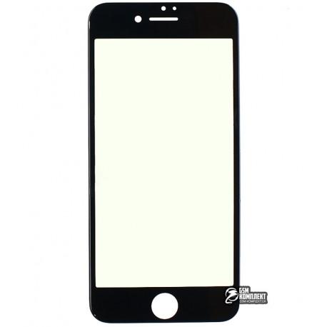 Защитное стекло HOCO Flexible PET 3D Anti-Blue IPhone 7/8 0.25мм (Черный)