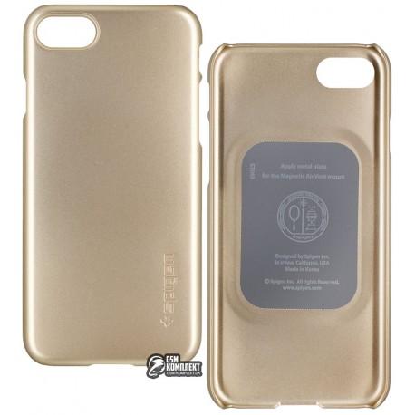 Чехол защитный SGP / Spigen Case Thin Fit для iPhone 8 / 7 золотой
