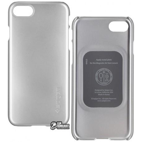 Чехол защитный SGP / Spigen Case Thin Fit для iPhone 8 / 7 серебро