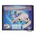 Бінокуляр 9892B2 з LED-підсвіткою і набором лінз 5шт