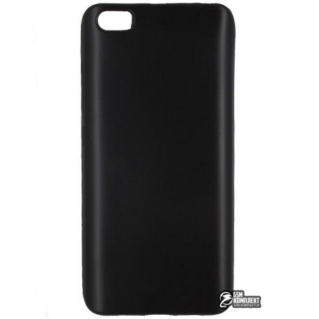 Чехол защитный для Xiaomi Mi5, силиконовый, матовый, черный