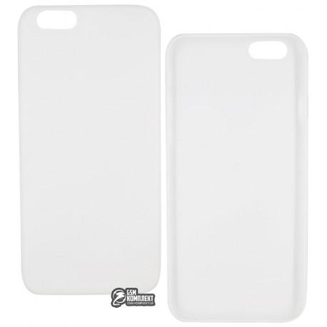 Чехол защитный TOTO для iPhone 6/6s ультратонкий пластик, прозрачный