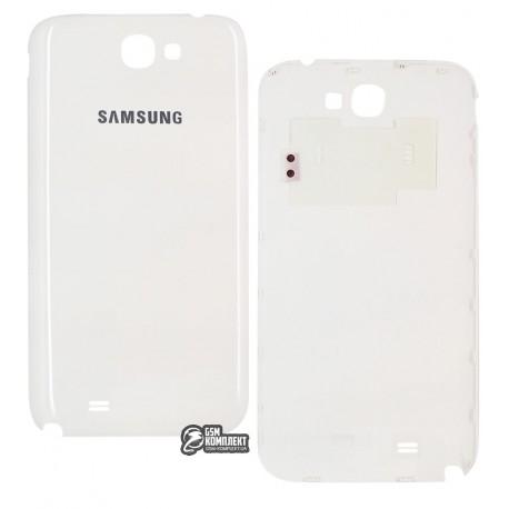 Задняя крышка батареи для Samsung I317, N7100 Note 2, N7105 Note 2, T889, белая