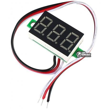 ВольтметрцифровойDVM-36.3постоянноготока0-30V,красныйтрипровода