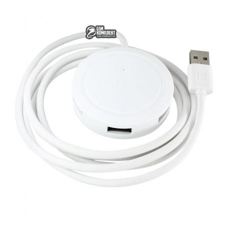 USB хаб Remax RU-05 3USB, белый