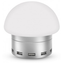 Сетевое зарядное устройство Awei C910 LED lamp на 6 USB портов / 5А