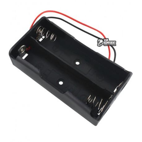Отсекдлябатарей2x18650спроводами