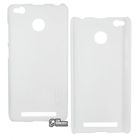 Чохол накладка Frosted Xiaomi Redmi 3 Pro White