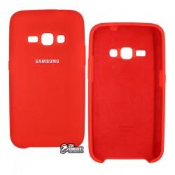 Чехол soft touch для Samsung J120 Galaxy J1-2016, силиконовый