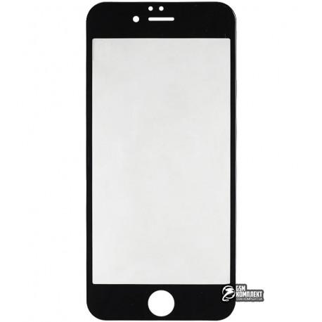 Защитное стекло BASEUS Silk printing 3D Anti Blue Tempered Glass IPhone 6/6S 0.23мм (Черный)