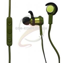 Bluetooth-гарнитура Baseus Encok Bluetooth Earphone S01 Green+Black (NGS01-06)
