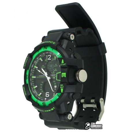 Часы наручные G-shock GWA-1100, зеленый