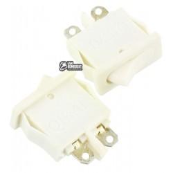 Выключатель SMRS-101-1 клавишный, белый