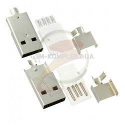 Штекер USB-A для кабеля USB-02-MC