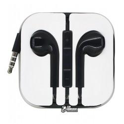 Наушники Hoco M1 apple earpods черные