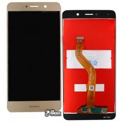 Дисплей для Huawei Nova Lite+, Y7 (2017), золотистый, с сенсорным экраном, original (PRC)