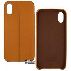 Чехол USAMS Joe Series Case for iPhone X, Brown