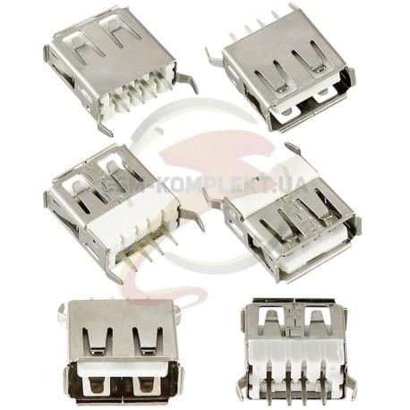 Гнездо USB-A вертикальное (USB-02-FD-180)