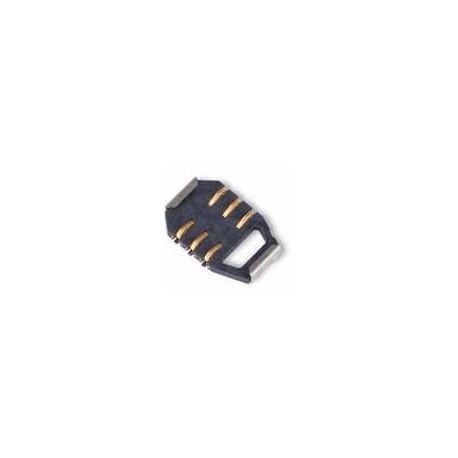 Коннектор SIM-карты для Sony Ericsson K300, K500, K700, K750, W800, Z520