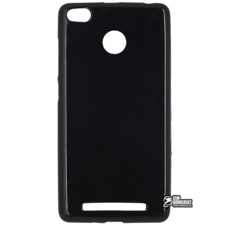 Чехол защитный для Xiaomi Redmi 3s / 3 pro, силиконовый, черный