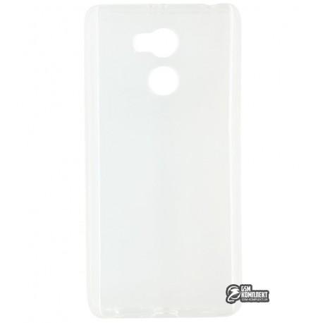 Чехол защитный для Xiaomi Redmi 4, силиконовый, прозрачный